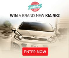 Win a Car – Justplay South Africa is Giving Away a Brand New 2014 Kia Rio - The Product Fundi