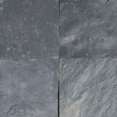 Silver Blue Gray Slate Gauged Tiles, - Traditional - Wall And Floor Tile - by White Marble Tiles Slate Flooring, Rubber Flooring, Flooring Options, Hardwood Floors, Slate Tiles, Marble Tiles, Slate Floor Kitchen, Kitchen Flooring, Slate Stone