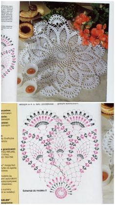 Crochet Dollies, Crochet Doily Patterns, Crochet Mandala, Crochet Diagram, Thread Crochet, Crochet Patterns Amigurumi, Filet Crochet, Crochet Motif, Crochet Designs