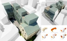 SYAA | UCMR-ADA www.syaa.ro #office #building #rehabilitation #extension #architecture #Bucharest #competition #3D #rendering