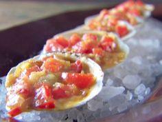 Clams Casino recipe from Giada De Laurentiis via Food Network