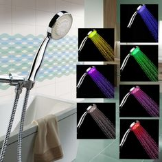 Color Changing Shower Head