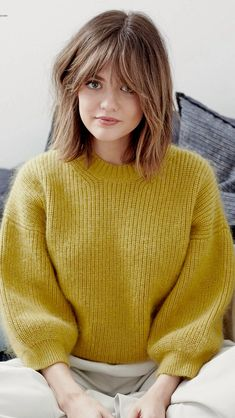Hair Color Ideas For Brunettes Hairstyles With Bangs, Straight Hairstyles, Formal Hairstyles, Easy Hairstyles, Medium Hair Styles, Curly Hair Styles, Hair Day, Hair Lengths, Hair Trends