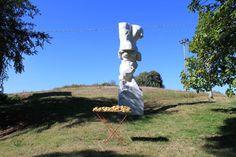 "Saatchi Art Artist Wilhelm Roseneder; Sculpture, ""Goldene Erweiterung/Golden expansion"" #art Everyday Objects, The Expanse, Garden Sculpture, Saatchi Art, Sculptures, The Originals, Abstract, Outdoor Decor, Extensions"