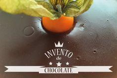 Chocolate con culis de mango y galleta. Receta paso a paso, con fotos.
