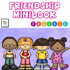 This free minibook is a perfect way to review with your students how to be a good friend.  There are 6 half pages with simple text and a picture for students to color.  On the last page students will draw a picture of themselves and how they can be a good friend.