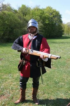 "The arquebus was used against enemies who were often partially or fully protected by steel-plate armor. Good suits of plate would usually stop an arquebus ball at long range. It was a common practice to ""proof"" (test) armor by firing a pistol or arquebus at a new breastplate. However, at close range, it was possible to pierce even heavy cavalry armor. This led to changes in armor usage, such as the three-quarter plate, and finally the retirement of plate armor from most types of infantry."
