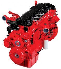 Новый двигатель Cummins ISG12
