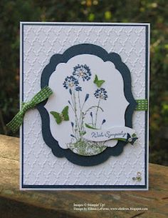 Serene Silhouettes, Teeny Tiny Wishes, Beautiful Wings embosslit, framelits - Labels & Bitty Banners. Thanks Eileen!