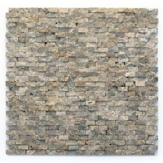 <p>During manufacturing, the tiles are hand sorted into matching colors and sizes and individually glued onto mesh backing. It is not unusual to find occasional imperfections, veins and lines of separation within the stones.</p>