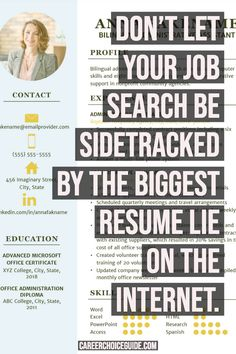 Is Creative Resume Design Ruining Your Job Search? Resume Writing Tips, Resume Writer, Resume Tips, Resume Ideas, Free Resume Examples, Creative Resume Templates, Resume Profile, Job Hunting Tips, Effective Resume