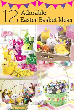 12 Ideas to help you create an adorable Easter Basket for your children. From big monster truck Easter Baskets and Super Hero baskets or tutu Easter baskets, we have plenty of ideas to suit your children. Easter Projects, Easter Crafts, Holiday Crafts, Holiday Fun, Easter Ideas, Holiday Ideas, Hoppy Easter, Easter Bunny, Easter Celebration