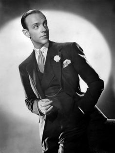 Frederic Austerlitz Jr. a.k.a. Fred Astaire, Born 10th,May 1899. A quintessentially dapper gent, in fact, he was the first pin on this board.