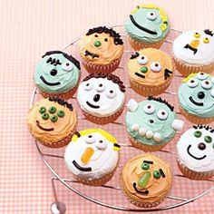 Little Monster Cupcakes | MyRecipes.com