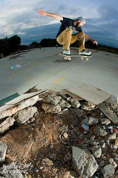 Wes Morgan: Ollie #skateboard #skater
