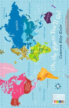 Boy Baby Quilt with World Map | Pitter Patterned