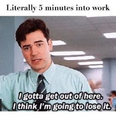 Funny work memes to help get you thru a hard day at the office. We've rounded up the best memes about work for you to lol & share with coworkers Hate My Job, Hate Work, Job Humor, Nurse Humor, Memes Humor, Drunk Humor, Ecards Humor, Funny Memes About Work, Funny Work