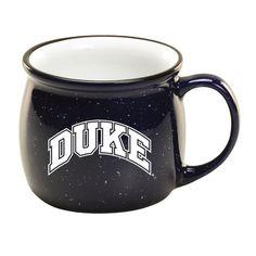Duke University Collection of Gifts - Duke® Speckled Colonial Mug University Store, Duke University, Duke Blue Devils, Colonial, Mugs, Gifts, Collection, Presents, Tumblers