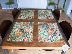 DIY: Sewing Placemats - House Bella
