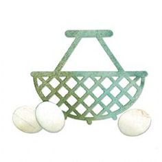 Egg /& Wire Basket by Jen Long-Philipsen Sizzix Bigz Stanzer