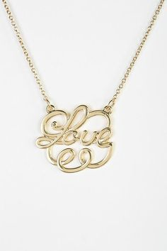 So In Love Necklace