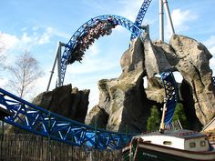Blue Fire Coaster at Europa Park. Rust, Germany. Globe Travel in Bristol, CT is standing by to make your vacation dreams come true! Reach us at 860-584-0517 or by email at info@globetvl.com!