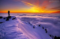 Sea of clouds by Adrian Petrisor on 500px