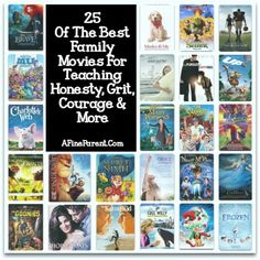 25 Of The Best Family Movies For Teaching Honesty, Grit, Courage & More - A Fine Parent