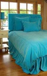 Turquoise Tickles Bedding Machine washable/ so soft