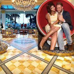 Nico Schwanz und Micaela Schäfer im Palazzo Versace