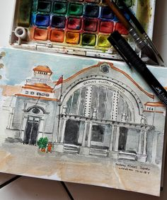 Gedung Filateli Jakarta..🏛️ one of the heritage buildings of Dutch colonial relic, built in the mid-19th century at Batavia, known as Jakarta nowadays..