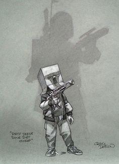 Star Wars - Dirty Deeds by Craig Davison