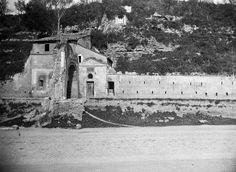 Via Marmorata - Arco e Chiesetta di San Lazzaro (1890-1900)