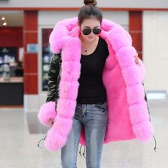 Find More Parkas Information about plus size 2016 new long Camouflage winter jacket women outwear thick parkas natural real fox fur collar coat hooded pelliccia,High Quality winter jacket women,China camouflage winter jacket woman Suppliers, Cheap collar coat from Milanka fashional Store on Aliexpress.com