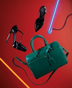 "Saint Laurent ""Duffle 6"" handbag."
