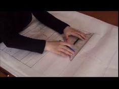 Modelistlik, Elde Kalıp, Pensiz Temel Beden Kalıbı, ders /13 - YouTube