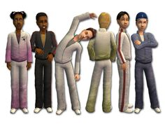 Mod The Sims - Not-So-Tacky Tracksuits