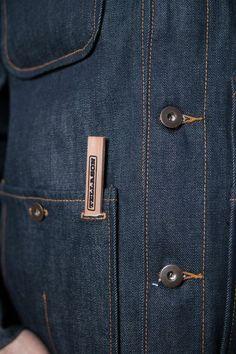 Tellason Coverall Denim Jacket at Burg und Schild. Under My Skin, Dress Loafers, Denim Jeans Men, Dressed To Kill, Denim Outfit, Jackets Online, Work Wear, Cover, Menswear