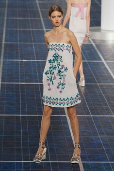 @Chelsea Schult This looks like you! Chanel Spring 2013