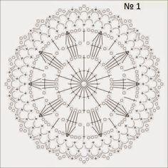 lo spazio di lilla: Schemi di motivi all'uncinetto / Crochet motifs ch...