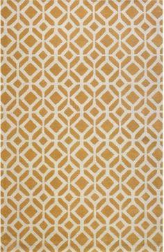 cute orange rug