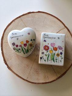 Scatoline di porcellana di Monila handmade su http://tulleeconfetti.com/