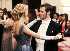 Caroline and Klaus in Season 3