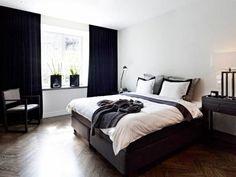 #elegant #b&w #bedroom
