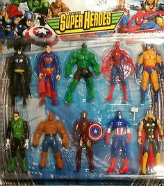 "6"" #movie toy the avengers #superhero #action figures marvel spiderman batman hul,  View more on the LINK: 	http://www.zeppy.io/product/gb/2/231688295985/"