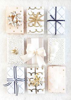 Home-Styling | Ana Antunes: Christmas Presents Inspiration * Inspiração de Embrulhos de Natal