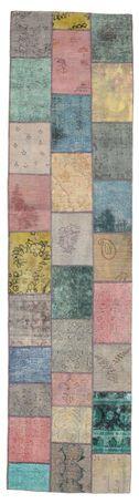 Patchwork kleed, gemaakt van vintage Turkse tapijten. Carpet Vista