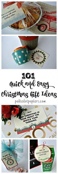 101 Quick and Easy Christmas Gift Ideas