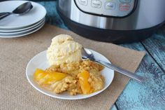 The Best Instant Pot Peach Cobbler Many of you know of my love for my Instant Pot. It makes dinner a breeze and cooking, in general, is just way easier. I was trying out some new recipes and made this delicious Instant Pot Peach Cobbler. One word I would use to describe this dish is …