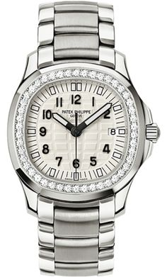 5087/1A-010 Patek Philippe Aquanaut Womens Stainless Steel Watch | WatchesOnNet.com